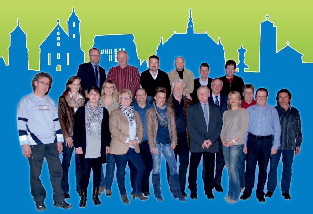 Gruppenbild Kandidaten 2014